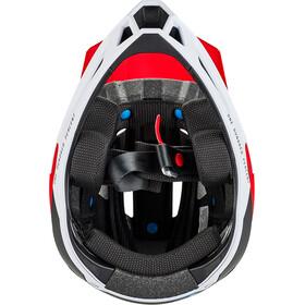 100% Trajecta Helmet red